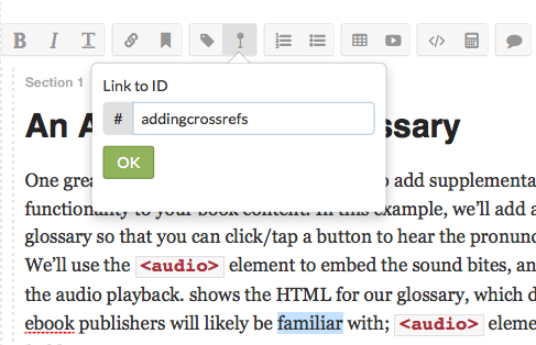Atlas documentation figure 5 4 type the id of the section you want to create a cross reference to thats it fandeluxe Document